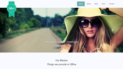 Office - Free Responsive HTML Template