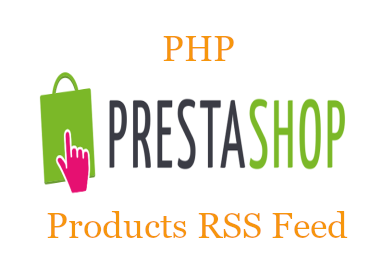 PHP Prestashop Products RSS Feed